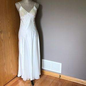 Victoria Secret Vintage Long Silky Night Gown